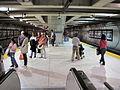 Embarcadero BART station platform 1.JPG