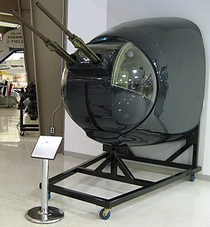 Lockheed P-2 Neptune - Emerson nose turret from the Neptune at the National Naval Aviation Museum, Florida, 2007