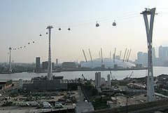 Emirates Air Line towers 24 May 2012.jpg
