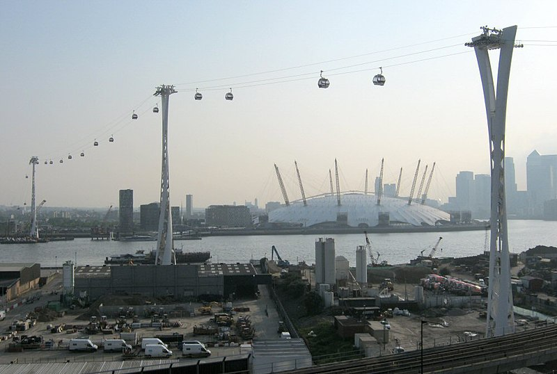 File:Emirates Air Line towers 24 May 2012.jpg