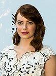Photo of Emma Stone at the Mill Valley Film Festival in 2016.