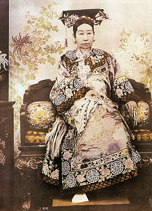 Chinese nobility - Empress Dowager Cixi, Regent of China considered de facto sovereign of China for 47 years during AD 1861-1908