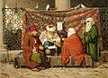 En Tyrkisk Notar, Som Afslutter En Aegtepagt (Martinus Rørbye).jpg