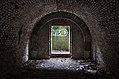End of a tunnel in Fort de la Chartreuse, Liege, Belgium (DSCF3456-hdr).jpg