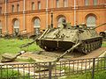 Engineer reconnaissance vehicle IRM (Инженерная разведывательная машина) in Military-historical Museum of Artillery, Engineer and Signal Corps in Saint-Petersburg, Russia.jpg