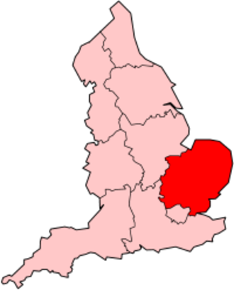 East of England (European Parliament constituency) - Image: England East England