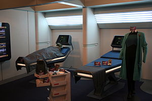 USS Enterprise (NCC-1701-D) - Biobeds in sickbay
