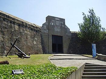 Entrada al Castillo de San Antón