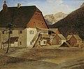 Erasmus von Engert - Das große Hammerhaus in Hirschwang an der Rax - 2464 - Österreichische Galerie Belvedere.jpg