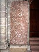 Erhard Reich von Reichenstein (died 1384) epitaph in Basel Minster