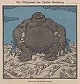 """Erich Schilling – Die Mißgeburt der Pariser Konferenz """"Wenn sie nur nicht ihre Eltern erdrückt!"""" (The monstrosity of the Paris Conference) 1921 Satirical cartoon No known copyright (low-res).jpg"""