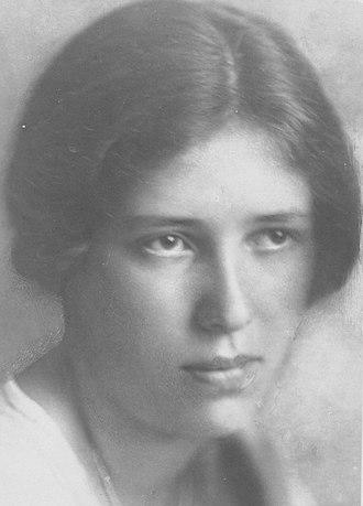 Erika Mitterer - Erika Mitterer circa 1923