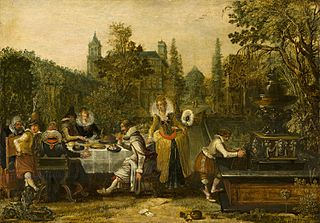 Merry Company in a Park