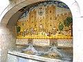 España. Barcelona, Fuente de la Porta Ferrissa, junto al paseo de la Rambla. Era una de las puertas de la segunda muralla, construida en el siglo XIII. - panoramio.jpg
