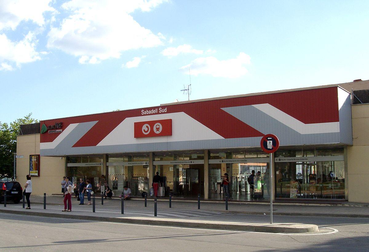 Estació de Sabadell Sud - Viquipèdia, l'enciclopèdia lliure
