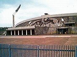 Estadio ol mpico universitario la enciclopedia de pumas for Puerta 9b estadio universitario