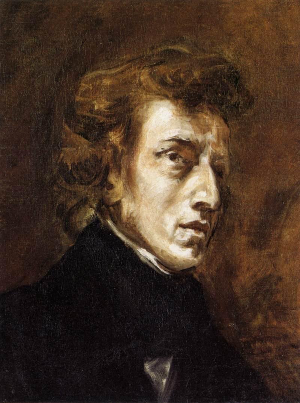 Eugène Delacroix - Frédéric Chopin - WGA06194