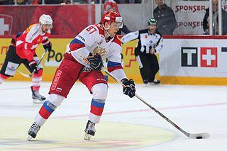 Maxim Shalunov Russian ice hockey player