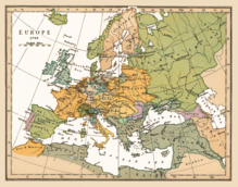 Carte De Leurope La Nuit.Europe Wikipedia