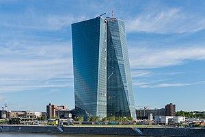 European Central Bank - building under construction - Frankfurt - Germany - 14