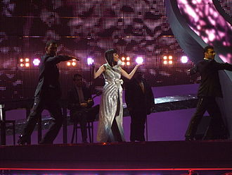 Cyprus in the Eurovision Song Contest - Image: Evdokia Kadi, Cyprus ESC 2008, 2nd semifinal