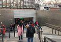 Exit D of Lingjing Hutong Station (20170303173426).jpg