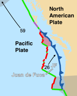 Explorer Plate An oceanic tectonic plate beneath the Pacific Ocean off the west coast of Vancouver Island, Canada