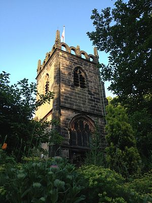 Didsbury - Church of St James, Didsbury in 2013