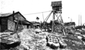 Exterior of primitive distillery in Pangasinan Province (Philippines, c. 1912).png