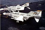 F-4Bs of VMFA-531 on USS Forrestal (CVA-59) 1973.jpg