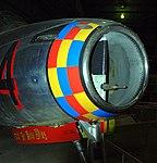 F-84E Thunderjet intake detail, National Museum of the US Air Force, Dayton, Ohio, USA. (45457126294).jpg