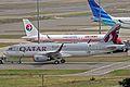 F-WWBG(5182 A7-AHV) A320-232S Qatar Aws TLS 26SEP13 (9957433564).jpg