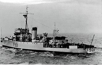 HMCS Wallaceburg (J336) - Image: F901 c 15