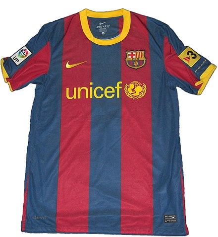 Trikot des FC Barcelona in der Saison 2010 11 1eea501b1a6