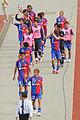 FC Tokyo squad walking.jpg