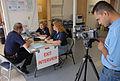 FEMA - 30805 - FEMA workers being videotaped at DRC in Missouri.jpg