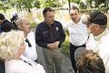 FEMA - 35641 - FEMA Administrator Paulison speaks with Iowa Residents.jpg
