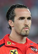 FIFA WC-qualification 2014 - Austria vs. Germany 2012-09-11 - Christian Fuchs 07.JPG