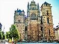 Façade ouest de la cathédrale de Rodez.jpg