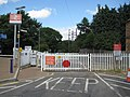 Farnborough North railway station level crossing - geograph.org.uk - 1389799.jpg