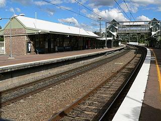 Fassifern railway station railway station in Lake Macquarie LGA, New South Wales, Australia