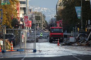 February 2011 Christchurch earthquake.