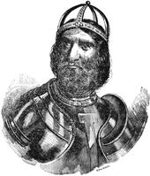 Ritratto ottocentesco di Federico I Barbarossa.