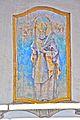 Feistritz im Rosental Suetschach Pfarrkirche Heiliger Lambertus Wandmalerei an der Suedwand 31122010 881.jpg