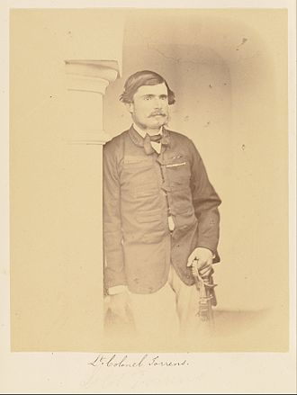 Henry Torrens - Photograph by Felice Beato, 1858–1859
