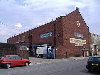 Fellows Morton and Clayton - The headquarters and basin at Fazeley Street, Birmingham