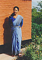 Female with blue dress Nepal.jpg