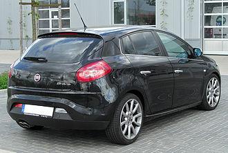 Fiat Bravo (2007) - Fiat Bravo rear