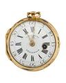 Fickur med boett av guld och urtavla i emalj, 1755 - Hallwylska museet - 110425.tif