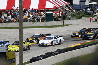 Road America - Xfinity cars in 2010